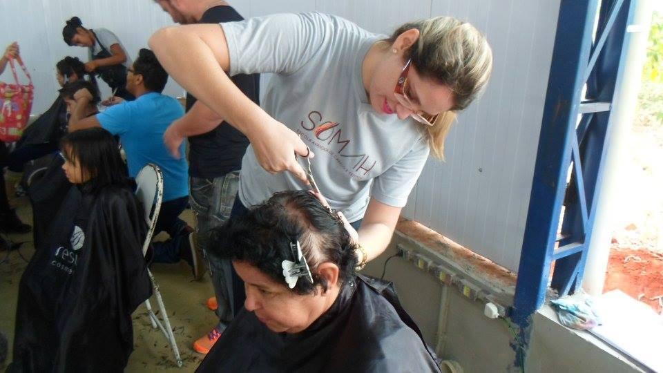 Voluntariado 1 - Corte de cabelo